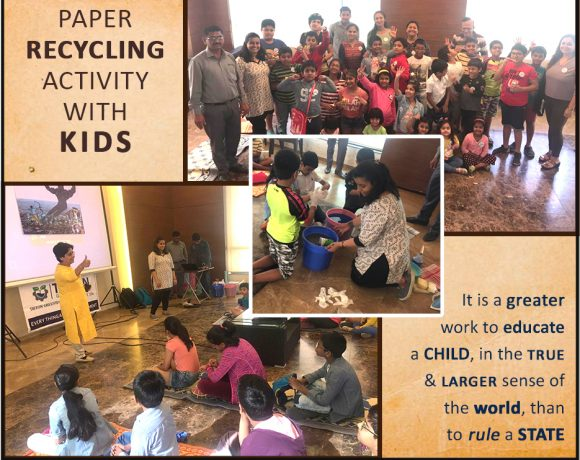 Paper Recycling Activity with Kids – Triton Greentech Innovation solutions